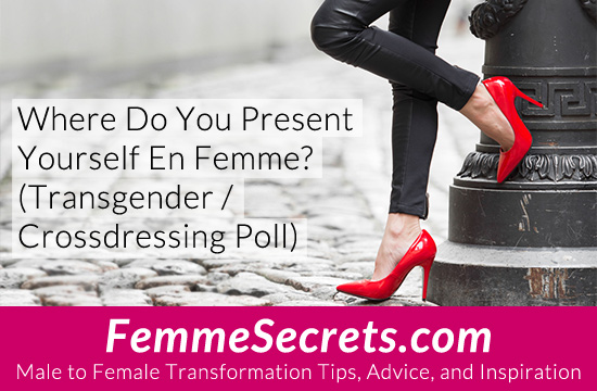 Where Do You Present Yourself En Femme? (Transgender / Crossdressing Poll)