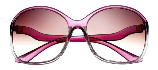violet summer sunglasses