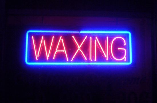 waxing sign