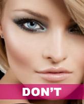 transgender facial feminization makeup example