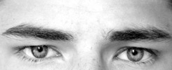 man's eyebrows