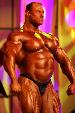 male body builder