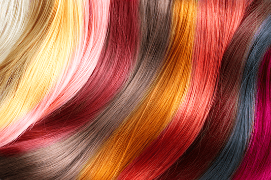 dyed hair colors