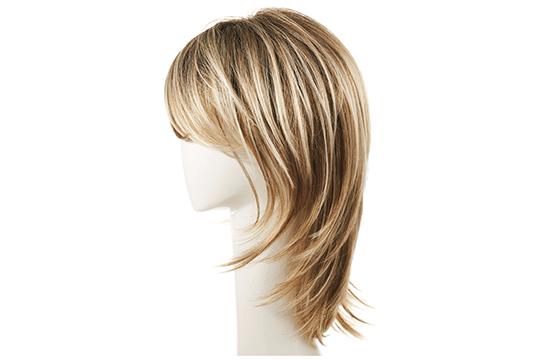 blended blond wig