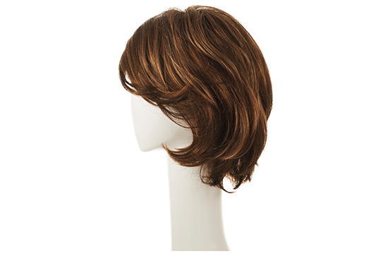 brown human hair wig