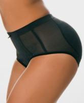 black padded panty