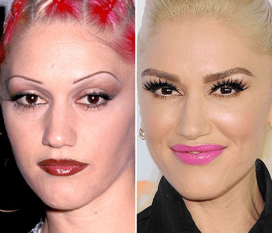 Gwen Stefani's eyebrows