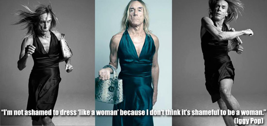 Iggy Pop dress quote