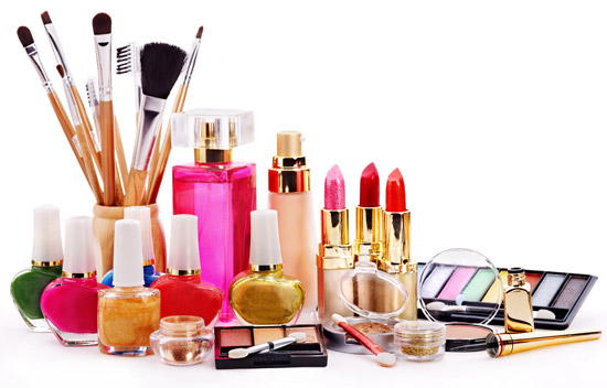 makeup and tools