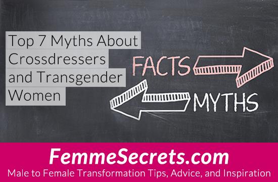 crossdresser and mtf transgender myths