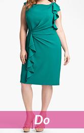 fit green dress