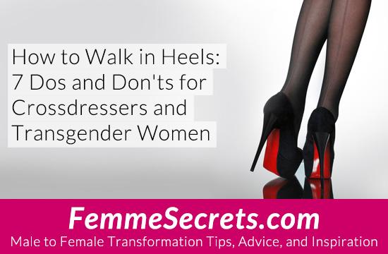 transgender crossdressing high heels