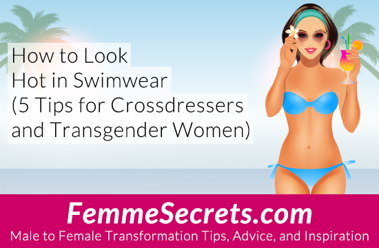 transgender crossdressing swimwear
