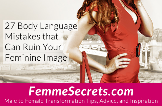 male to female body language