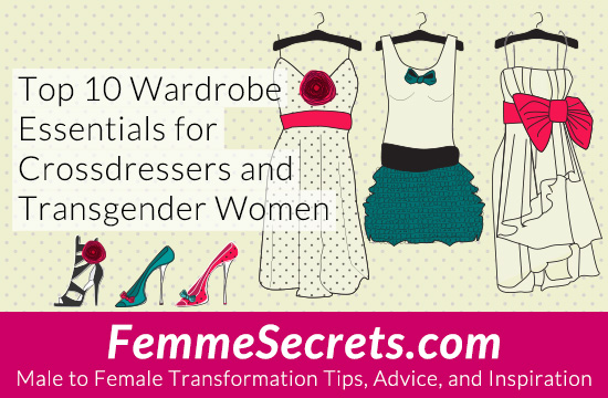 crossdressing transgender wardrobe essentials