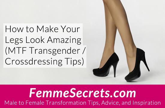 transgender crossdressing amazing legs