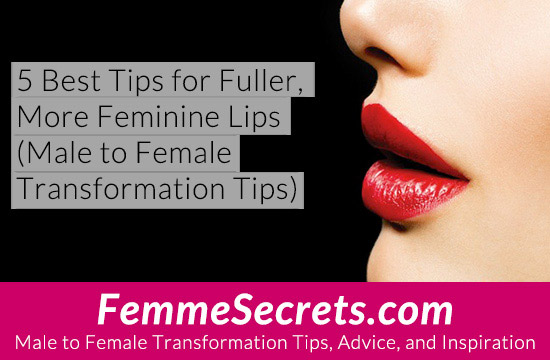 male to female fuller lips