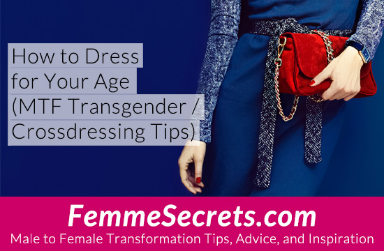 transgender crossdressing dress for your age