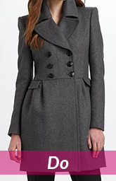 black office coat