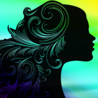 womans sideview artwork