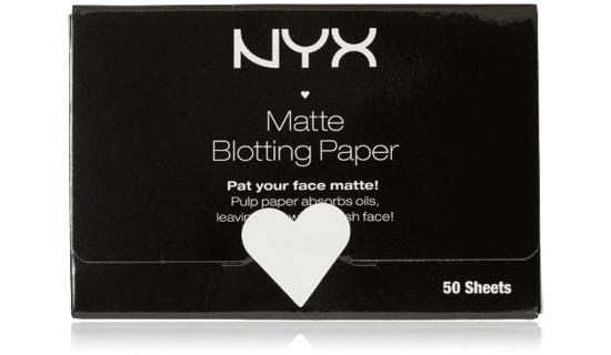 NYX blotting paper