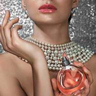 woman wearing perfume