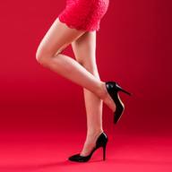 woman's legs in heels