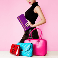 vibrant colored handbags