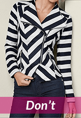 black striped blazer jacket