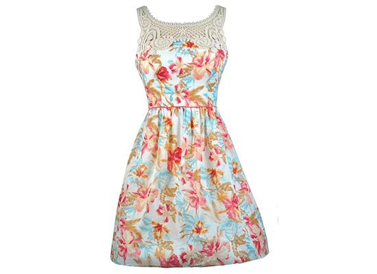 floral sun dress
