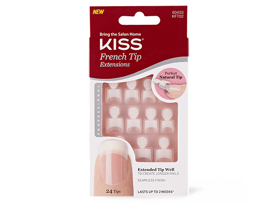 Kiss French Tip Nail Extensions