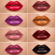 various lipstick colors