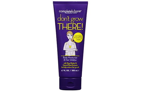 Completely Bare Body Moisturizer and Hair Inhibitor