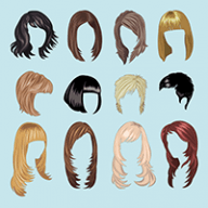 different kinds of hairstyles