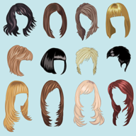 different kinds of hairstyle