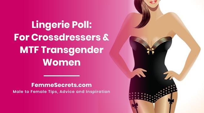 Lingerie Poll: For Crossdressers and MTF Transgender Women