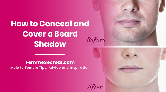 How to Conceal and Cover a Beard Shadow