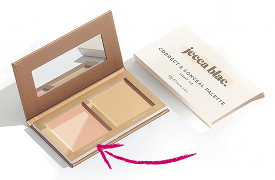 Correct and Conceal makeup palette
