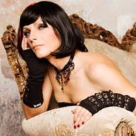 transgender woman in a lingerie